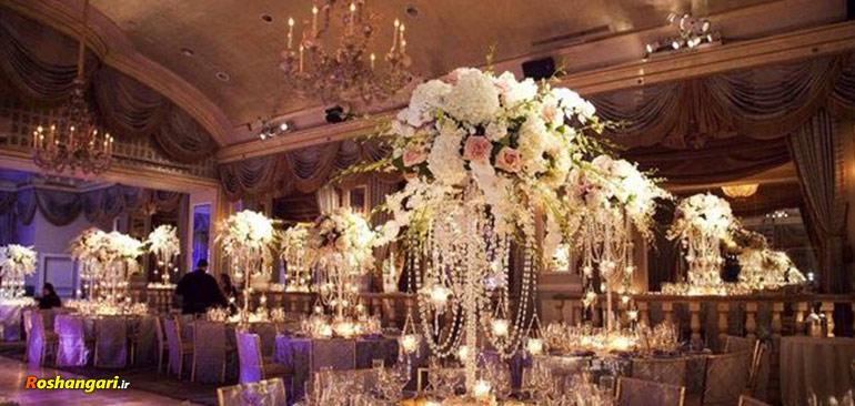 عروسی باید لاکچری باشه تا چشم همه در بیاد!!