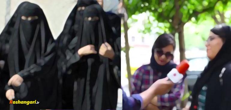 صحبت های آیت الله وفسی از راز بی حجاب کردن دختران در صدا و سیما