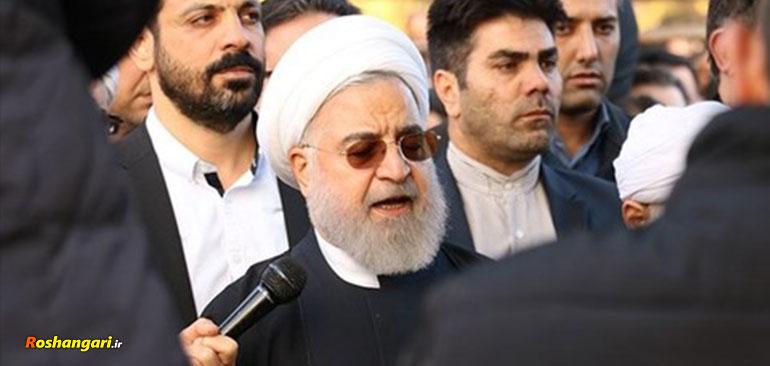 توهین دوباره روحانی به رهبری