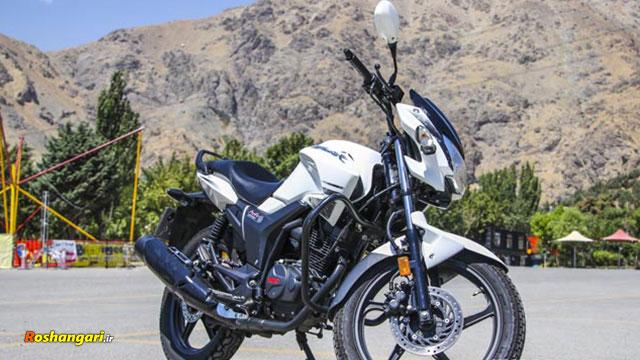 تست و بررسی موتور سیکلت هیرو هانک در تهران
