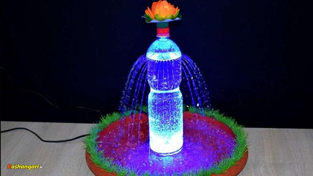 چگونه میتوان با بطری نوشابه آب نمای خانگی ساخت ؟!