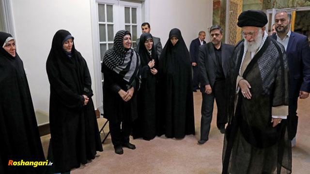 رهبر انقلاب: من تک تک مردم ایران را دوست میدارم