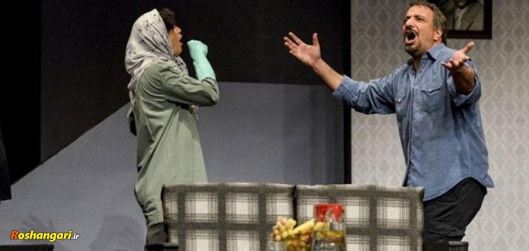 دیالوگهای عجیب امیر جعفری در تئاتر پاییز