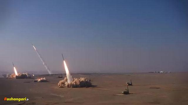 رزمایش تهاجمی موشکی و پهپادی پیامبراعظم۱۵ نیروی هوافضا سپا