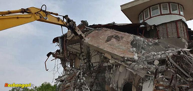 ماجرای جنجالی تخریب ویلای دو مقام مسئول در فیروزکوه