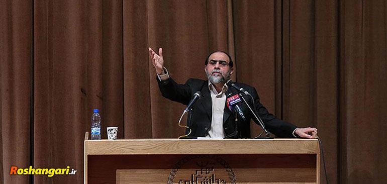 عصبانیت استاد رحیمپور از دانشجویی که از بختیار دفاع کرد
