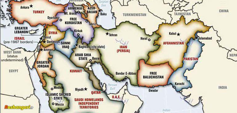 رائفیپور | نقشه شوم آمریکا برای تجزیه منطقه
