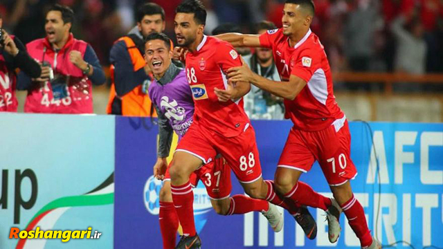 خلاصه بازی پرسپولیس 1-1 السد قطر