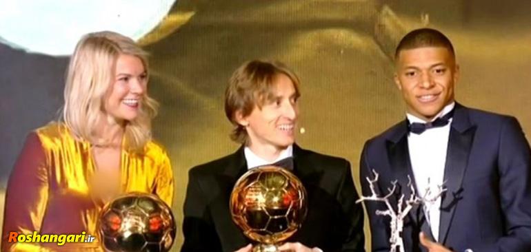 سوال جنسی مجری مراسم توپ طلا از بهترین بازیکن فوتبال زنان