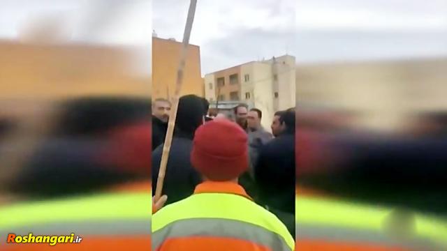 ماجرای درگیری شهرداری ماهدشت با شهرداری کرج!