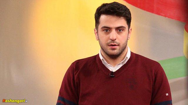 سوتی عجیب علی ضیا روی آنتن زنده