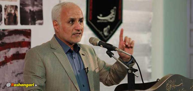 سخنرانی جنجالی حسن عباسی علیه لاریجانی، روحانی و ظریف در کرج