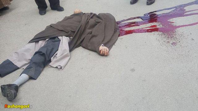 فیلمی که بهروز حاجیلو قاتل روحانی همدانی در اینستاگرام خود منتشر کرده است
