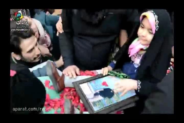 لحظات شهادت مدافعان حرم با صدای سید رضا نریمانی