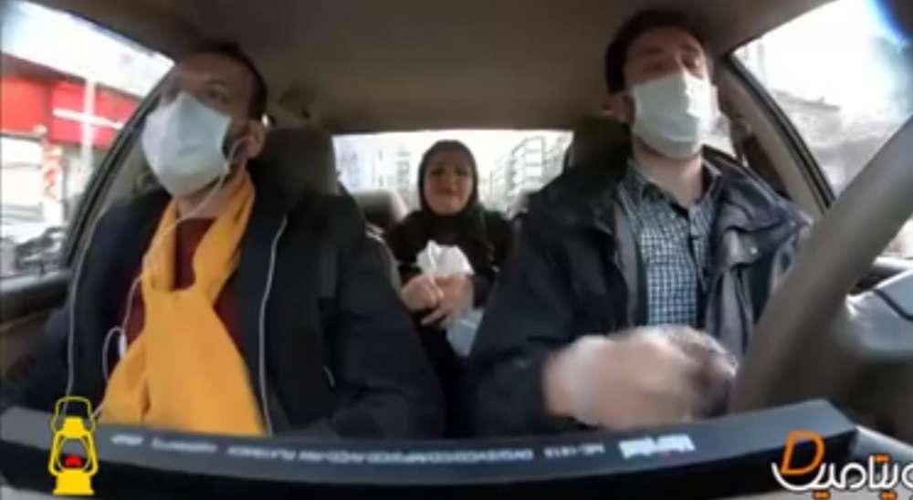 دوربین مخفی | شایعات کرونایی تو تاکسی