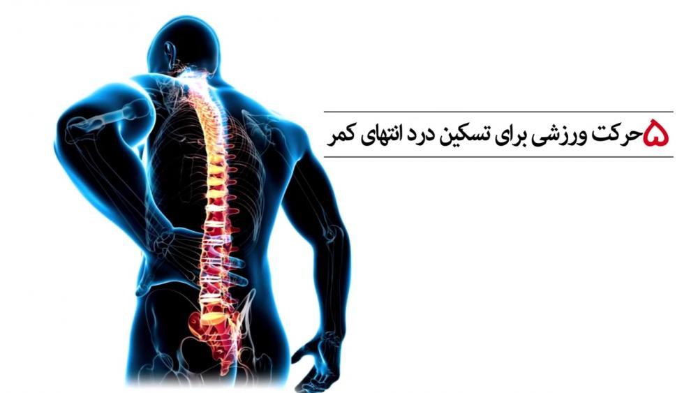 راه های درمان کمر درد