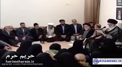 واكنش همسر شهید مدافع حرم در برابر درخواست داعش