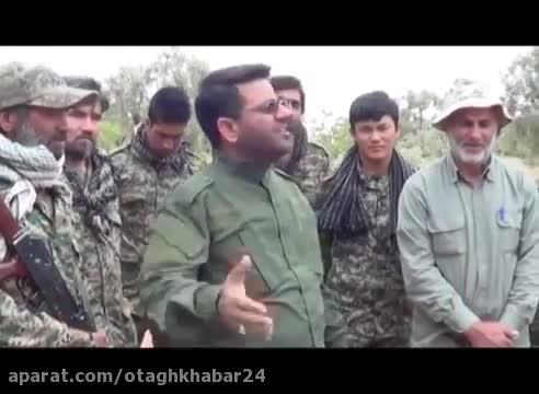رجزخوانی خبرنگار شهید صداو سیما در سوریه برای داعشی ها