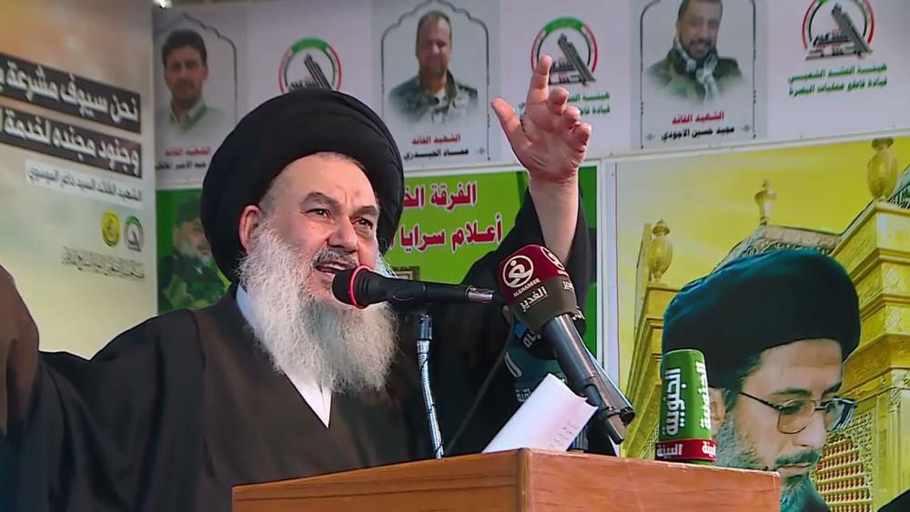 تاکید امام جمعه بغداد بر اخراج اشغالگران و برپائی نظام اسلامی درعراق
