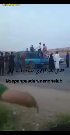 فیلمی از دستگیری مردان زن نما در مسیر پیاده روی زائرین اربعین در خوزستان!!!!