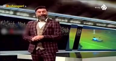 حرف های عجیب علی انصاریان در تلویزیون!
