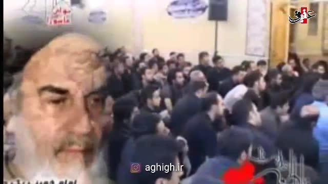 توصیفات شنیدنی حاج حسن خلج از امام خمینی (ره) در حسینیه نوباوگان