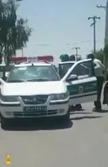 لحظه دستگیری قاتل امام جمعه کازرون