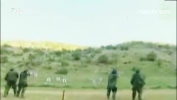 مانور حمله حزب الله به پایگاه اسرائیلی