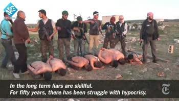 فیلمی جدید از جنایات تروریستهای در سوری