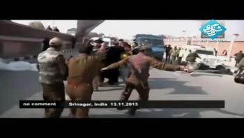 خشونت پلیس هند علیه عزاداران عاشورا