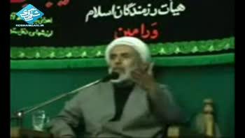 حجت السلام طائب - دروغ بزرگ میرحسین موسوی