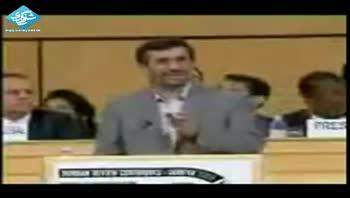 حماسه به یاد ماندنی احمدی نژاد در ژنو