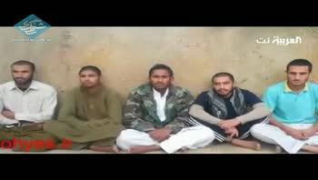 اولین ویدئو از ۵ مرزبانان اسیر شده ی ایرانی