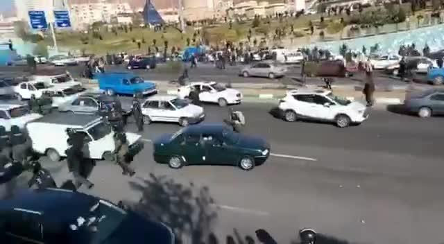 تبریز اتوبان پاسداران ۲۵ آبان