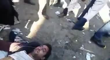 اولین فیلم از جانباختگان حادثه ازدحام جمعیت کرمان
