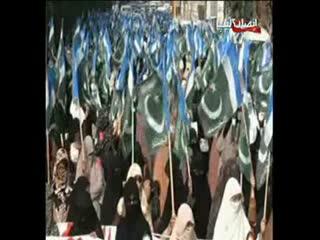 تظاهرات حمايت از حجاب در پاکستان