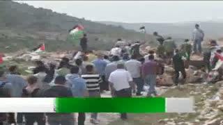 تظاهرات ضد صهيونيستي فلسطينيان