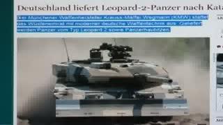 فروش تانک و توپ آلمانی به قطر