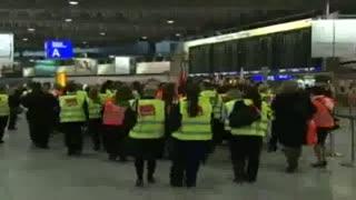 اعتصاب در فرودگاه های آلمان