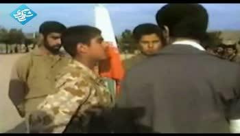 بازدید شهید محمود کاوه از نیروهای تحت امر
