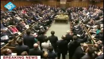 مخالفت پارلمان انگليس با حمله به سوريه