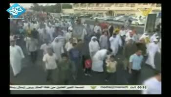 مردم بحرین خواستار آزادی زندانیان دربند رژیم آل خلیفه شدند
