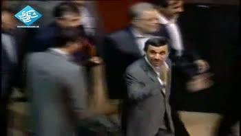 بازگشت محمود احمدی نژاد به دانشگاه