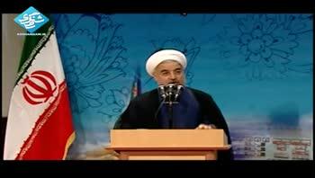 سخنرانی رئیس جمهور در مجمع فرماندهان سپاه
