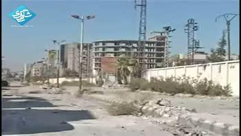 استفاده ی تروریست ها سوریه از هر وسیله ای برای شکست ارتش سوریه
