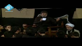 حاج محمدرضا طاهری - خیلی نبود خواهش زینب که رد کنی - شب چهارم محرم - 92