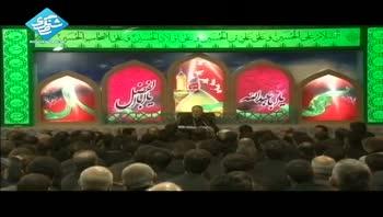 حاج منصور ارضی - روضه - روز ششم محرم - (19 / 8 / 92)