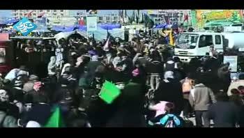 راهپیمایی عظیم حسینی - اربعین - ورودی کربلا - 92