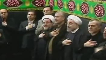 بازدید رئیس جمهور از شیرخوارگاه شهید ترکمانی در اربعین حسینی 92