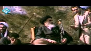 لحظه ی تاریخی دیدار امام خمینی با مردم